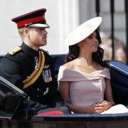 Das frisch vermählte Paar Prinz Harry und Herzogin Meghan.