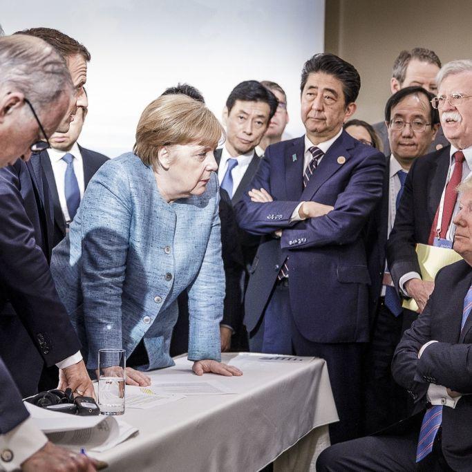 Trump fährt G7-Gipfel mit einem Tweet an die Wand (Foto)
