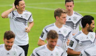 Das DFB-Team bekam am Wochenende Freizeit. (Foto)
