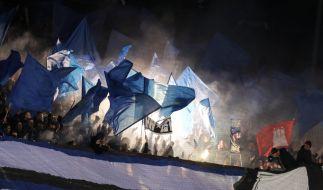 Wegen schweren Zuschauer-Fehlverhaltens hat das Sportgericht des Deutschen Fußball-Bundes (DFB) mehrere Bundesliga-Clubs zu teils hohen Geldstrafen verurteilt (Symbolfoto). (Foto)