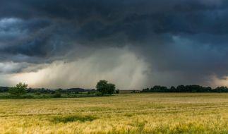 Erneut bedrohen schwere Gewitter Süddeutschland. (Foto)