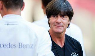 Jogi Löw will mit dem DFB-Team wieder Fußball-Weltmeister werden. (Foto)
