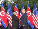 Historisches Treffen von Trump und Kim