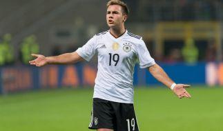 Mario Götze will zur Fußball-EM 2020 wieder angreifen. (Foto)