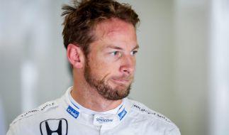 Jenson Button hat sich wieder verlobt. (Foto)