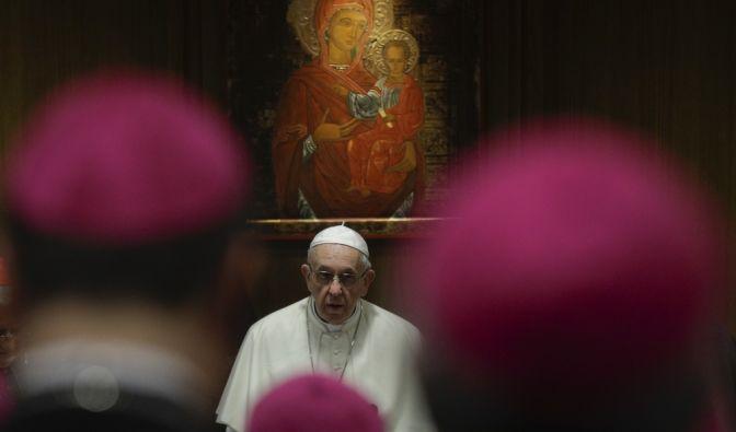 Der Papst ist die höchste Autorität innerhalb der römisch-katholischen Kirche. Doch wie sein Boss, Gott, aussieht weiß man natürlich nicht. Bis jetzt? (Symbolfoto)