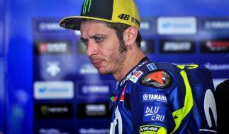 Valentino Rossi gehört seit Jahren zum Inventar der MotoGP. (Foto)