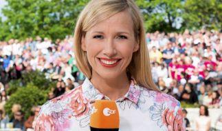 Andrea Kiewel,Moderatorin der des ZDF-Fernsehgartens. (Foto)