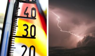 Der kalendarische Sommeranfang startet mit Gewittern und Unwetter. (Foto)