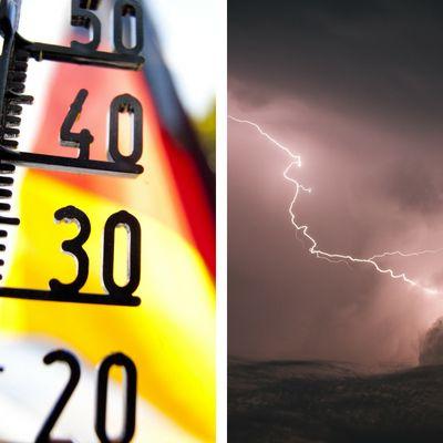 Hitze-Hoch! DWD warnt vor Unwettern und UV-Gefahr (Foto)