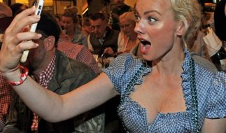 Model Franziska Knuppe setzt sich immer wieder gern in Szene. (Foto)