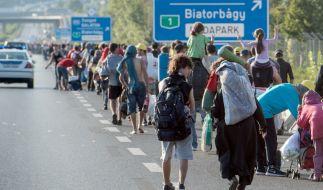 Ungarn geht mit einem neuen Gesetz gegen Flüchtlingshelfer vor. (Foto)