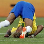 Für Sex mit ihm hätte es bei Burger King ein Leben lang Fast Food gegeben: WM-Superstar Neymar aus Brasilien, hier im Spiel gegen die Schweiz. (Foto)