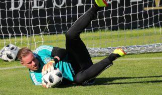 Marc-Andre ter Stegen interessierte sich schon von Kindesbeinen an für Fußball. (Foto)