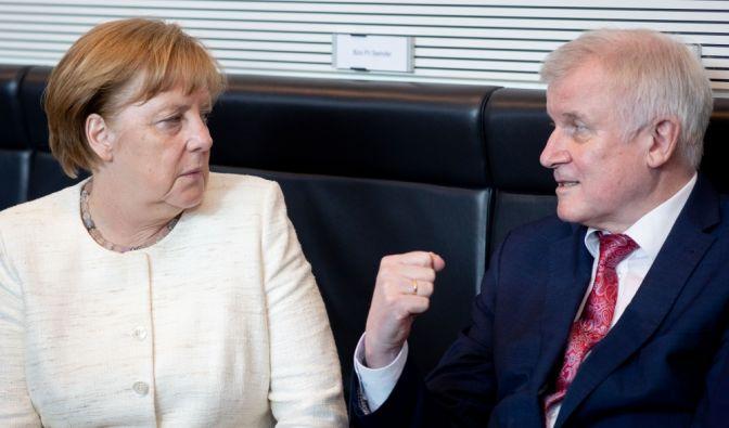Asylstreit mit Merkel
