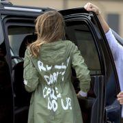 """""""Mir doch egal""""! Gilt die Ansage auf ihrer Jacke Mann Donald? (Foto)"""