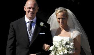 Zara Phillips und ihr Ehemann Mike Tindall, ein ehemaliger Rugby-Profi, sind seit dem 30. Juli 2011 verheiratet. (Foto)