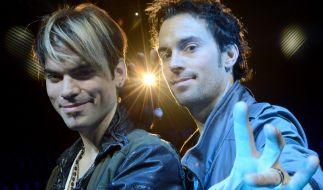 """Christian und Andreas Reinelt (von links) sind das Magier-Duo """"Ehrlich Brothers"""". (Foto)"""