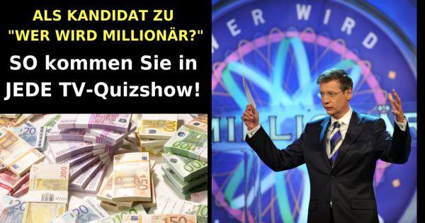 Bewerben Wer Wird Millionär