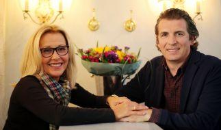 Liebesglück im zweiten Anlauf: Mit Jean-Marie Maus ist Margarethe Schreinemakers in dritter Ehe verheiratet. (Foto)