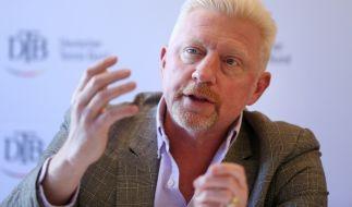 Boris Becker will die Versteigerung seiner Trophäen stoppen. (Foto)
