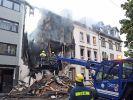 Explosion von Wohnhaus in Wuppertal