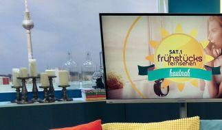 Christian Wackert, Moderator vom Sat.1-Frühstücksfernsehen, liefert sich einen Knackarsch-Battle mit Justin Bieber. (Symbolfoto) (Foto)