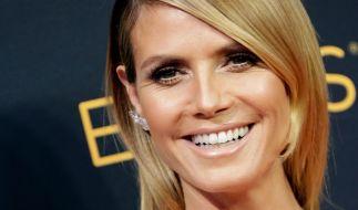 """Heidi Klum hat bei """"America's Got Talent"""" keine Angst davor, auf Tuchfühlung zu gehen. (Foto)"""