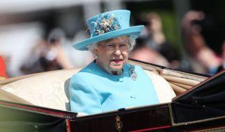 Die Queen musste heute einen Termin absagen. (Foto)