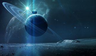 Forscher glauben, dass auf dem Saturn-Mond Enceladus beste Voraussetzungen für die Entstehung von Leben herrschen (Symbolbild). (Foto)