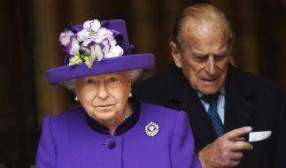 Queen Elizabeth II. und ihr Ehemann Prinz Philip sind seit 70 Jahren verheiratet. (Foto)