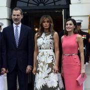 Kein Bock auf Melania Trump! Ehefrau von König Felipe VI. sorgt für Eklat (Foto)