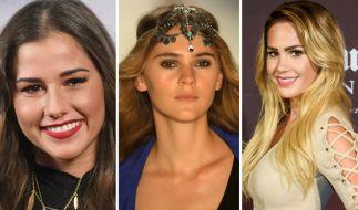 Sarah Lombardi, Stefanie Giesinger und Angelina Heger sorgen aktuell bei Instagram für viel nackte Haut. (Foto)
