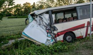 Bei dem Busunfall sind 46 Menschen verletzt worden. (Foto)