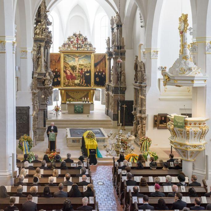 Bewegende Trauerfeier! Letzte Ehre für verstorbenen Wettiner-Prinz (Foto)