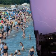 Hier kracht's! Kräftige Unwetter verjagen Sommerhitze (Foto)