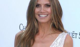 Heidi Klum ist nicht nur in Tom Kaulitz verliebt. (Foto)