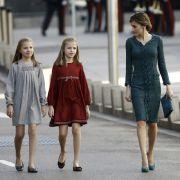 Abgeschoben! Spanische Prinzessinnen allein in USA geschickt (Foto)