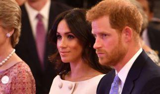 """Prinz Harry und Herzogin Meghan traten bei den """"Queen's Young Leader Awards"""" deutlich distanzierter auf. (Foto)"""