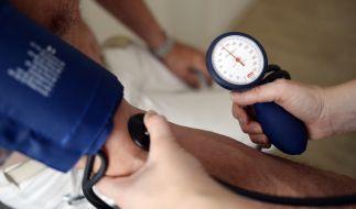 In Deutschland sind 20 bis 30 Millionen Menschen von Bluthochdruck betroffen. (Foto)
