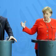 """Merkel betont """"unterschiedliche Sichtweisen"""" in Asylpolitik (Foto)"""