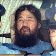 Giftgas-Guru und Sektengründer in Japan hingerichtet (Foto)