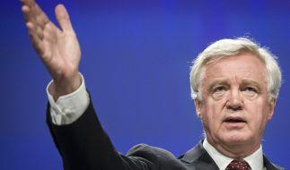 Stürzt der Rücktritt von David Davis Großbritannien in eine Krise? (Foto)
