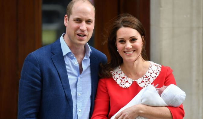 Kate Middleton und Prinz William präsentierten ihren neugeborenen Sohn Louis am 23. April 2018 der Weltöffentlichkeit. (Foto)