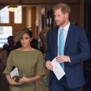 Meghan Markle, Herzogin von Sussex, und ihr Ehemann Prinz Harry waren ebenfalls als Gäste zur Taufe ihres Neffen Prinz Louis geladen.
