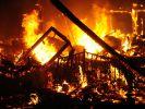 Rührende Geste nach Hausbrand