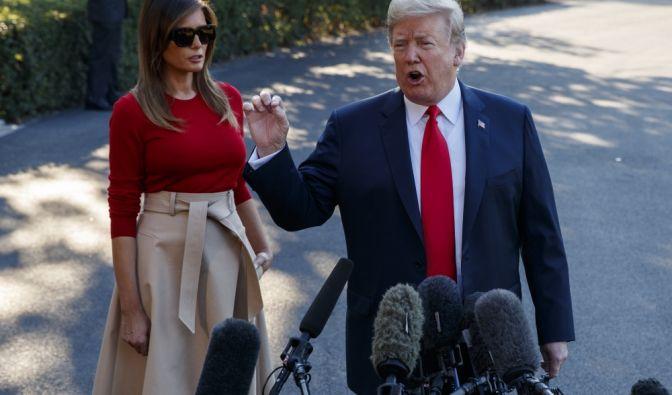 Donald Trump droht Pharmaunternehmen wegen Preiserhöhung.