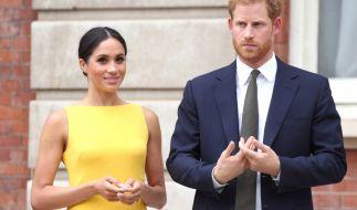 Als Herzogin von Sussex scheint sich Meghan Markle von alten Gewohnheiten verabschiedet zu haben - jetzt spricht sie plötzlich britisches Englisch! (Foto)
