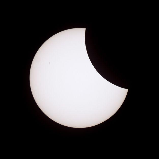 Ein böses Omen? Sonnenfinsternis am Freitag, den 13. (Foto)