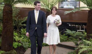 Prinzessin Eugenie von York wird im Herbst 2018 ihren Verlobten Jack Brooksbank heiraten. (Foto)